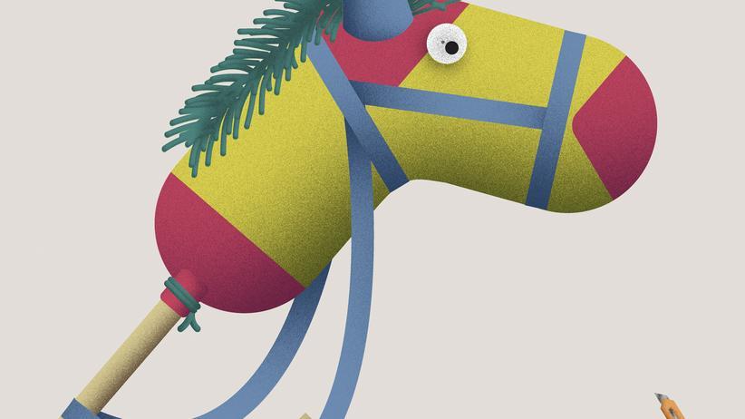 Die Wundertüte: Kleiner Stecken, großes Pferd