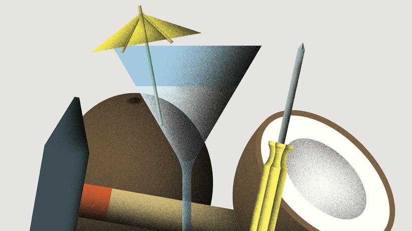 Wundertüte: Eine Kokosnuss öffnen