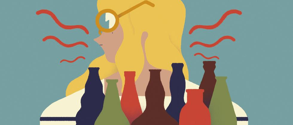 Alkohol: Die trinkende Frau