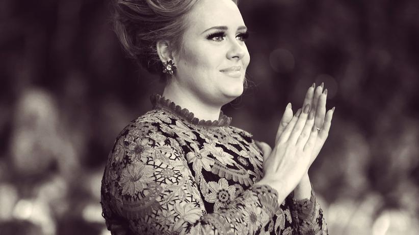 """Adele: """"Wenn eine wie ich es schaffen konnte, könnt ihr es auch"""""""