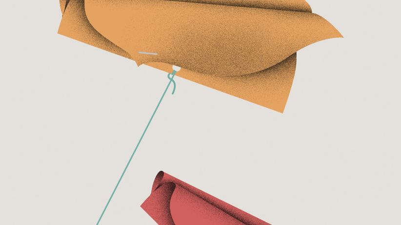 Papierdrachen: Hoch, höher, Absturz