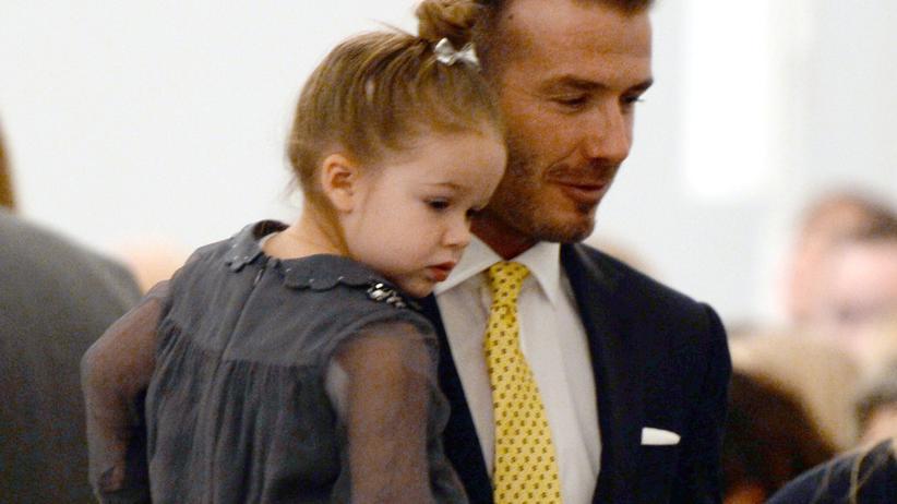 David Beckham: Er sieht gut aus? Er saugt Staub!