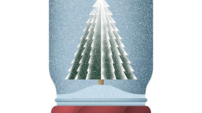 Wundertüte: Eine Schneekugel selber basteln