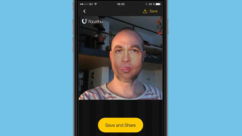 FaceYou / Unter Strom: Mirko Borsche testet die App FaceYou