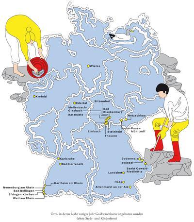goldschürfen in deutschland karte Gold: Der kleine Rausch | ZEITmagazin
