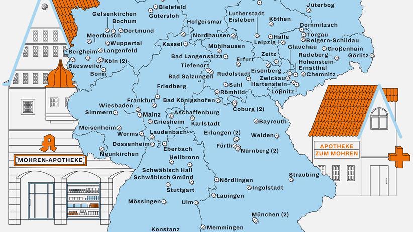 Mohren-Apotheke: Ferne Länder, vergangene Zeit