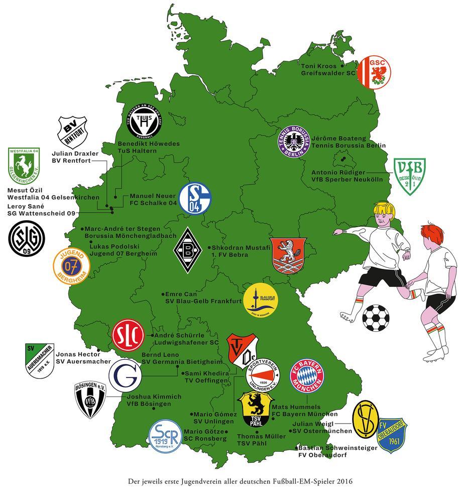 fußballclubs deutschland