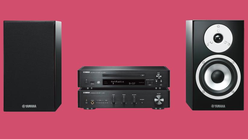 Stereoanlage: Sound mit System