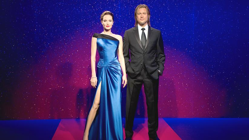 Brangelina: Ein Denkmal für die Paarbeziehung: Angelina Jolie and Brad Pitt im Londoner Wachsfigurenkabinett Madame Tussaud's