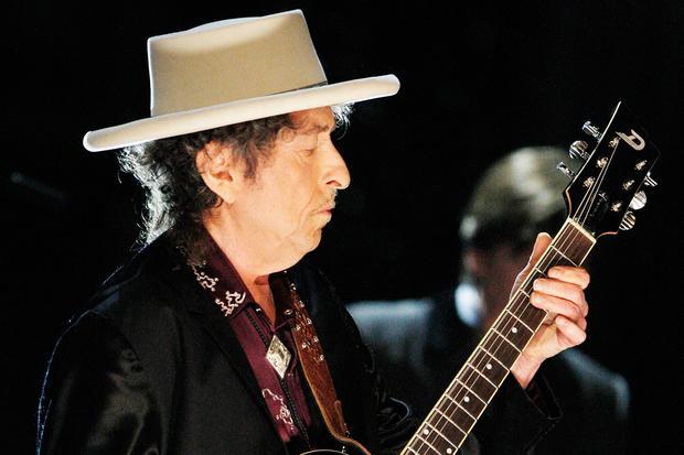 Gesellschaftskritik: Bob Dylan im Jahr 2009 bei einem Konzert im kalifornischen Culver City.