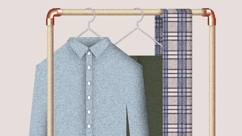 Wundertüte: Eine Garderobe