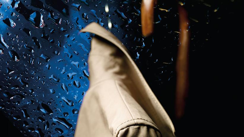 Regenmantel: Endlich schlechtes Wetter!