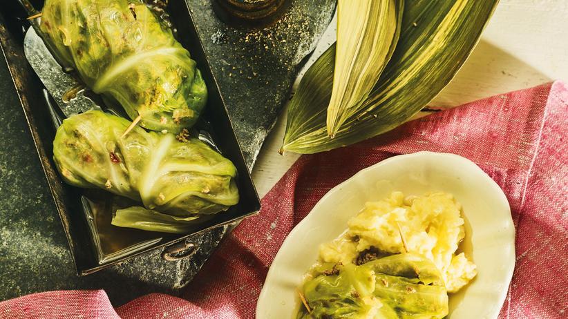 Kohlrouladen: Das Gegenteil von Salat