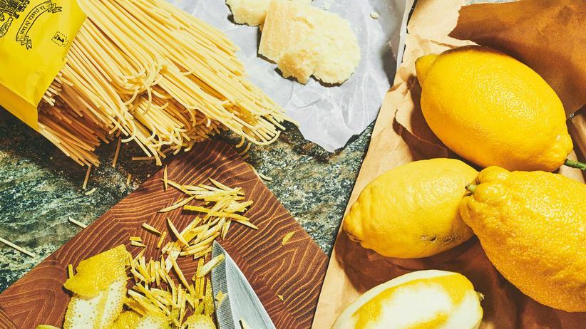 """Pasta: Spaghetti á la """"Ich bleib zu Hause"""""""