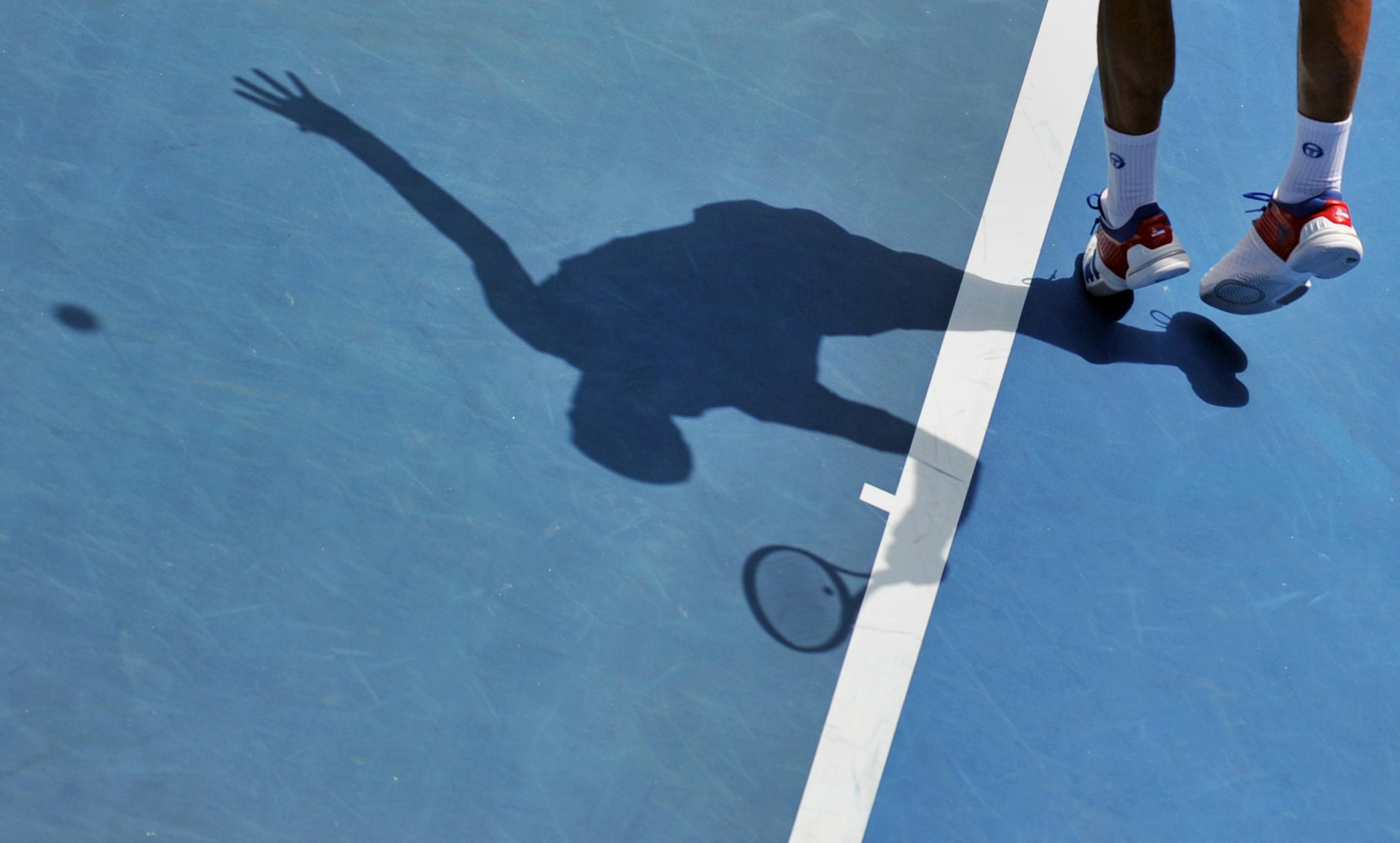 Tennis: Perfekter Aufschlag