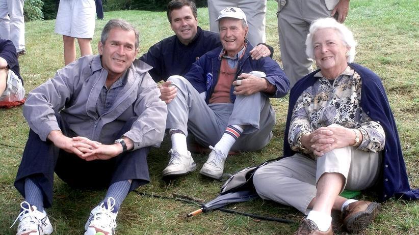 Gesellschaftskritik: Die Brezelbuben der Bushs