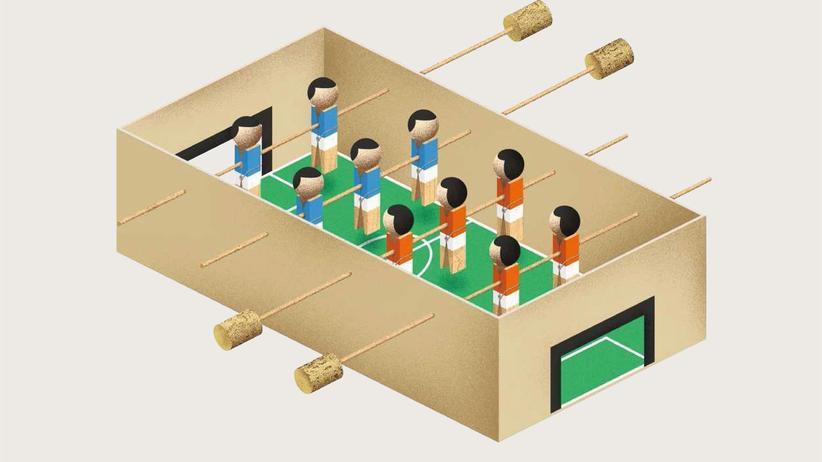 Tischfußball: WM im Wohnzimmer
