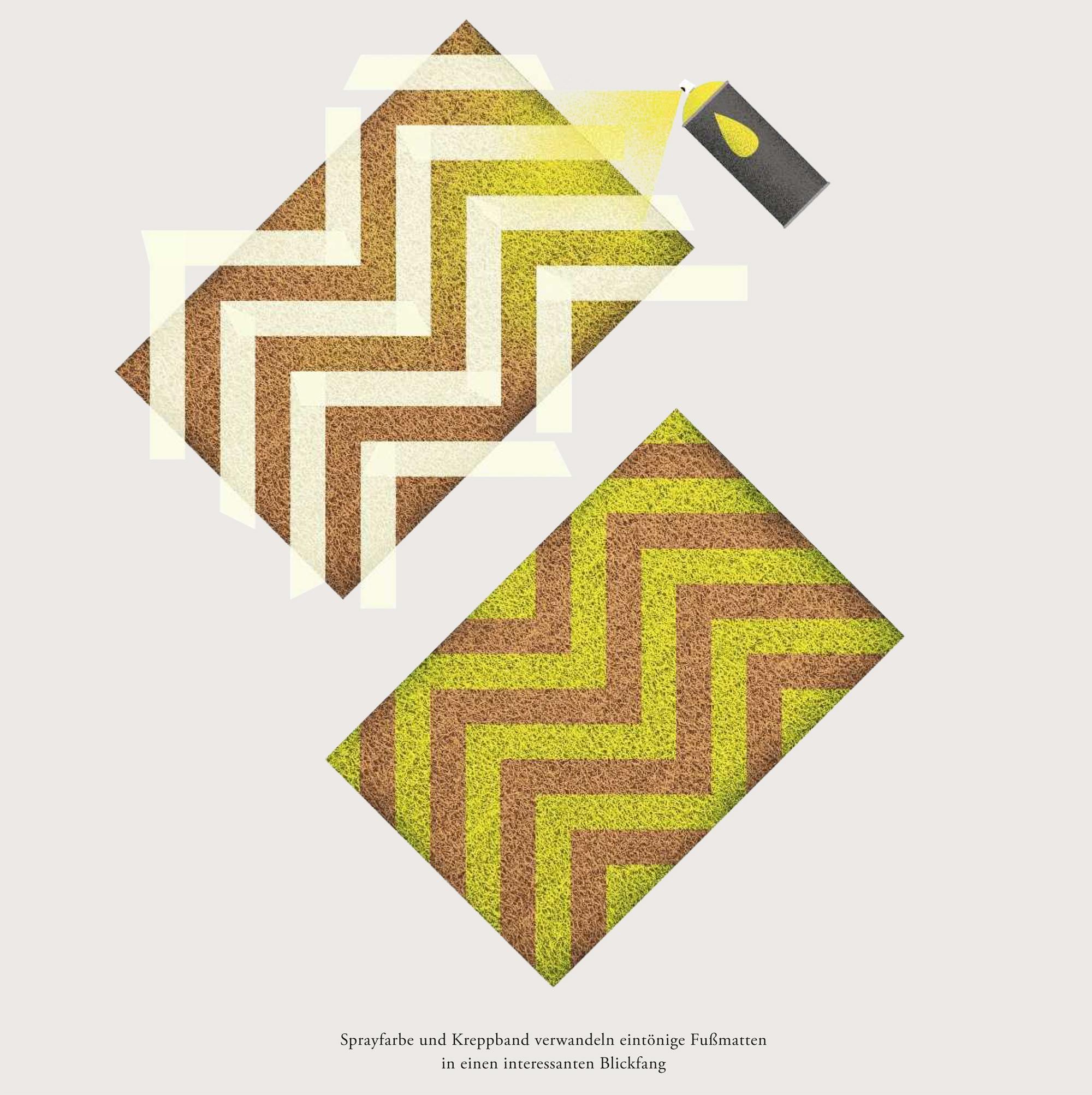 Wundertüte: Fußmatte mit Muster