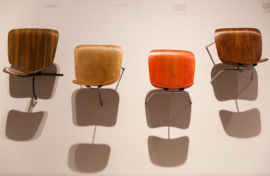 "Ray und Charles Eames: Die Londoner Ausstellung ""The World of Charles and Ray Eames"" zeigte Objekte der Designer."