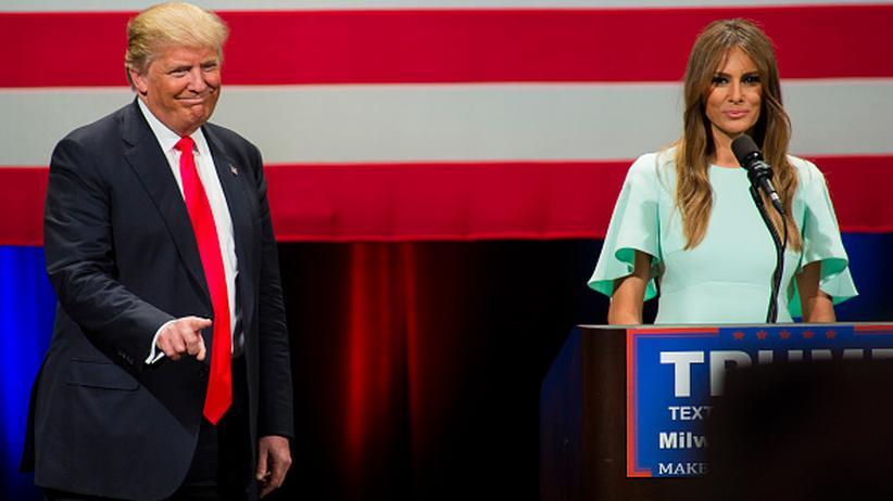 Melania Trump: Beängstigend schlicht