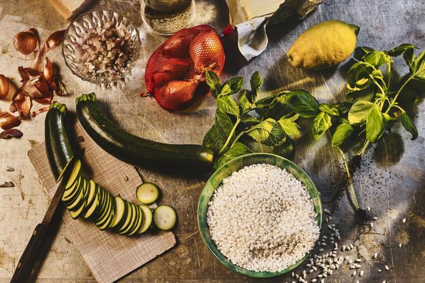 Wochenmarkt: Zucchini-Risotto