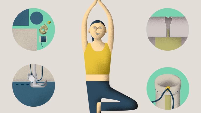 Yoga: Yogamatte to go