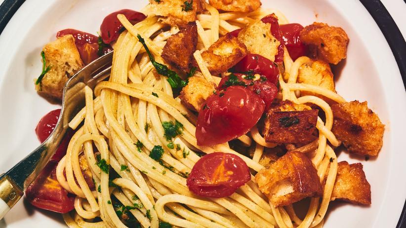 Pasta: Kohlenhydrate mit Kohlenhydraten