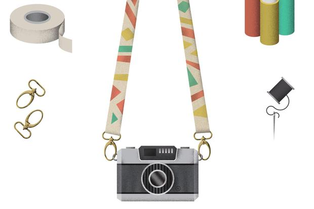 Wundertüte: Ein Kameragurt