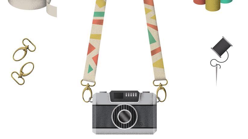 Kameragurt: Schöner rumhängen