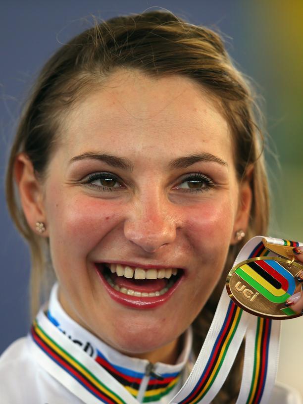 Das war meine Rettung: Kristina Vogel bei der 2014 UCI Track Cycling World Championships in Kolumbien