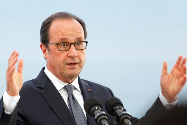Gesellschaftskritik: Frankreichs Präsident Hollande im September 2016