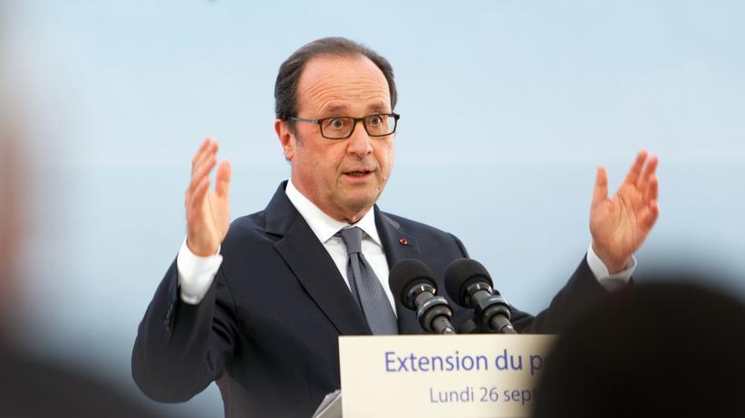 François Hollande: Hätte er das so sagen dürfen?