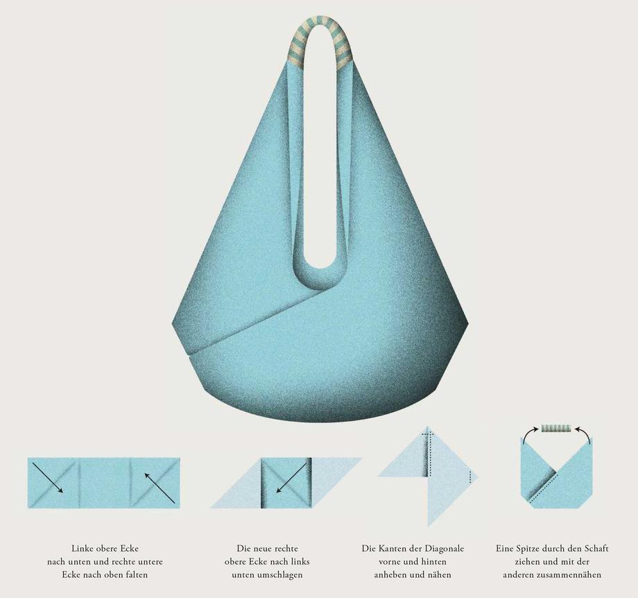 Origami-Tasche: Falten zum Tragen | ZEITmagazin
