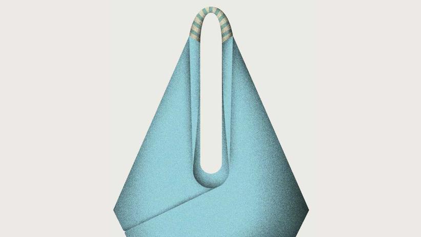 Origami-Tasche: Falten zum Tragen
