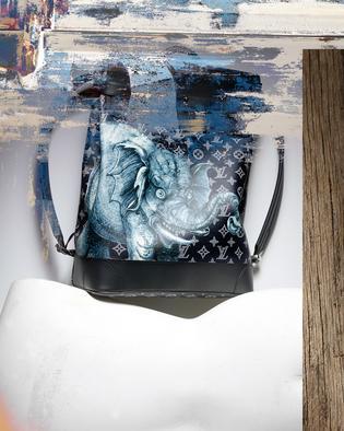 Spitze Sache: Rucksack von Louis Vuitton mit Elefanten-Motiv