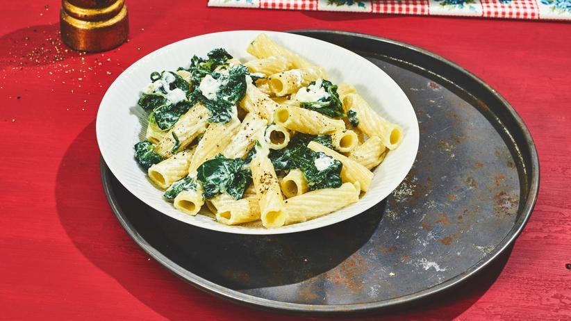 Pasta mit Ricotta: Falls es in der Familie knirscht