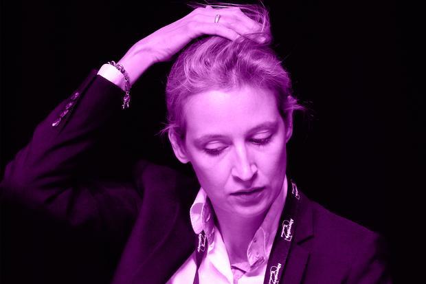 Andersrum ist auch nicht besser: Alice Weidel