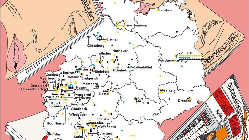 Deutschlandkarte: Die große Sehnsucht nach dem Süden