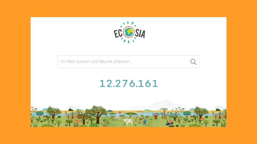 Ecosia: Faul sein, Gutes tun