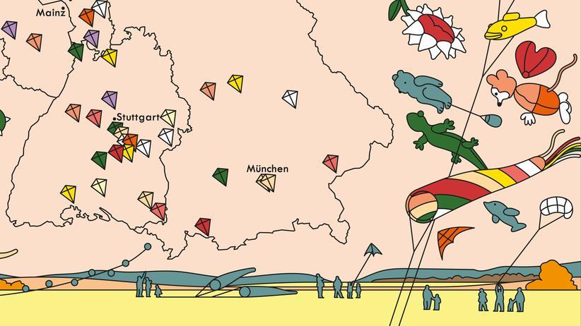Deutschlandkarte: Für Aufsteiger