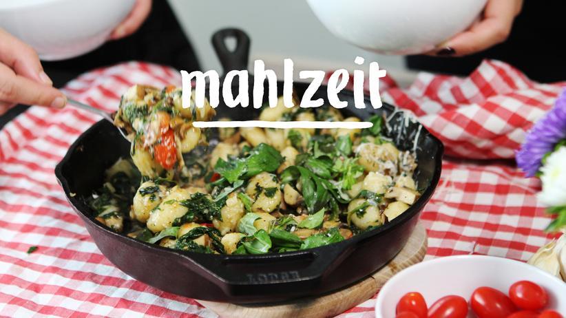 Gnocchi: In den Pilzen