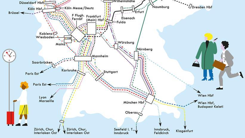 ICE-Linien: Es fährt ein Zug nach Irgendwo