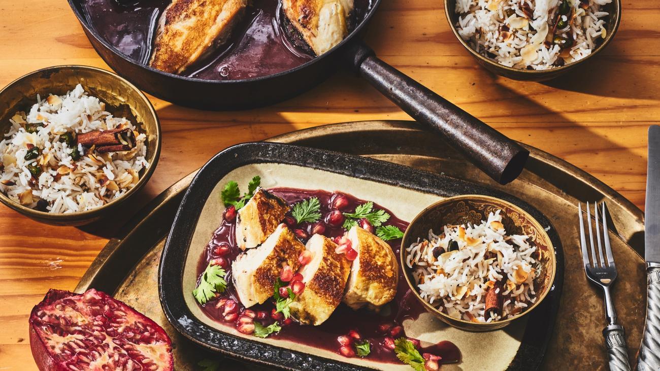 hähnchenbrustfilet: das partyhuhn | zeitmagazin - Die Libanesische Küche Salma Hage