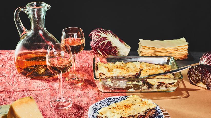 Radicchio-Lasagne: Jugendtraum mit Nudel