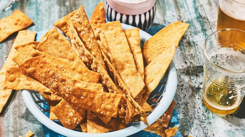 Cracker mit Olivenöl: Klar, man könnte die auch kaufen …
