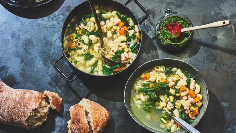 Französische Gemüsesuppe: Ein Topping der Träume