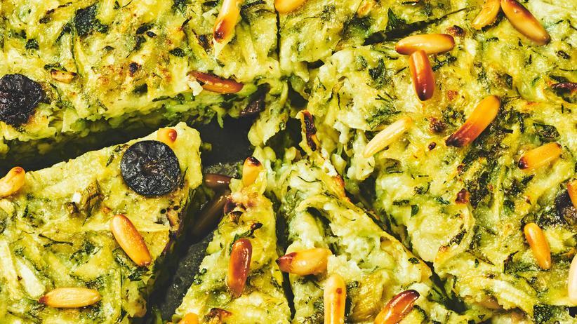 Zucchini-Omelett: Lauwarmes aus der Wundertaverne