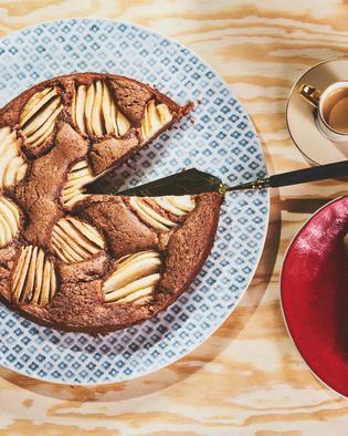 Birnen-Schokoladen-Kuchen
