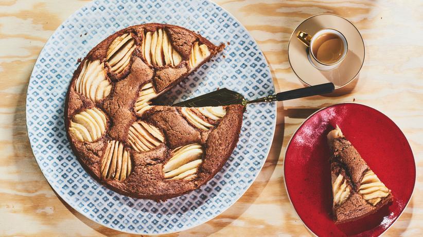 Birnen-Schokoladen-Kuchen: Romeo und Julia aus dem Ofen