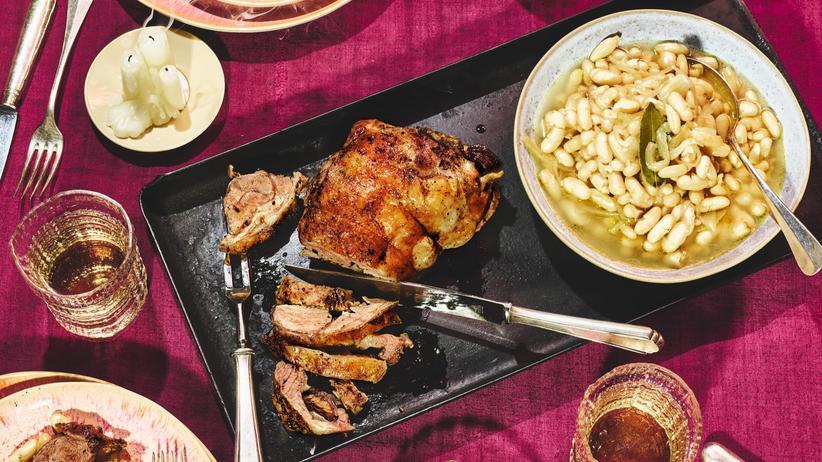 Lammschulter: Endlich wieder Fleisch